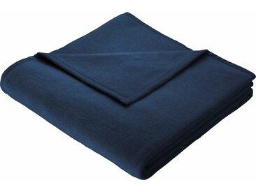 Wohndecke Cotton Home, BIEDERLACK 150x200 cm, Baumwolle-Kunstfaser blau Baumwolldecken Decken Wohndecken