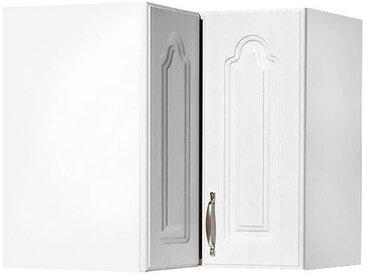 wiho Küchen Eckhängeschrank Linz 60 x 56,5 35 (B H T) cm, 2-türig weiß Hängeschränke Küchenschränke Küchenmöbel Schränke