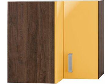 wiho Küchen Eckhängeschrank Tacoma Einheitsgröße orange Hängeschränke Küchenschränke Küchenmöbel Schränke
