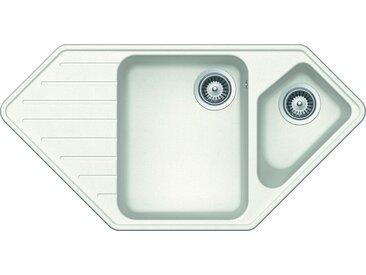 RESPEKTA Einbauspüle MEMPHIS98X50G Einheitsgröße weiß Küchenspülen Küche Ordnung