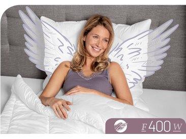 Baumwollbettdecke, F400, Schlafstil weiß, 200x220 cm weiß Naturfaser Bettdecke Bettdecken Bettdecken, Kopfkissen Unterbetten