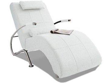 COLLECTION AB Relaxliege, in elegantem Design, wahlweise mit Kippfunktion, frei im Raum stellbar Kunstleder SOFTLUX®, 78 cm, Mit Kippfunktion weiß Relaxliegen Sessel Sofas