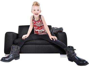 W.SCHILLIG 2-Sitzer francesca mini, Kindersofa mit Metallfuß, Breite 102 cm B/H/T: x 54 52 schwarz Sofas Einzelsofas Couches