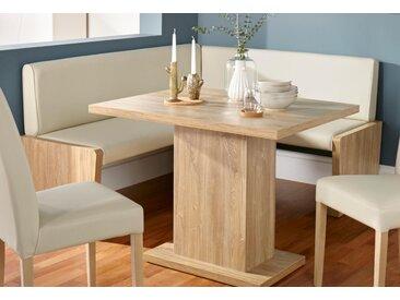 my home Eckbank Marion B/H/T: 177 cm x 86 137 cm, Kunstleder beige Sitzbänke Nachhaltige Möbel