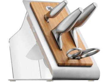 WMF Messerblock mit Messerset 5tlg. Spezialklingenstahl geschmiedet Chef's Edition
