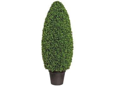 Creativ green Kunstpflanze Buchsbaumsäule im Formschnitt (1 Stück)