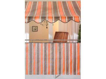Angerer Freizeitmöbel Balkonsichtschutz, Meterware, H: 75 cm Einheitsgröße orange Markisen Garten Balkon Balkonsichtschutz