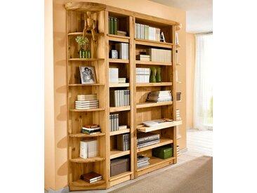 Home affaire Regal Soeren, (4-tlg.), Höhe 220 cm, Tiefe 29 cm Einheitsgröße braun Regale Garderoben Nachhaltige Möbel