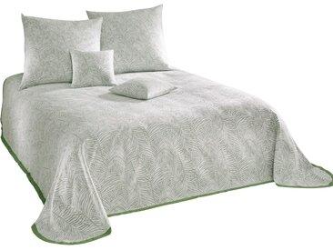heine home Tagesdecke B/L: 270 cm x 250 weiß Kunstfaserdecken Decken