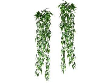 Creativ green Kunstranke Bambushänger B/H: 38 cm x 90 grün Kunstranken Kunstpflanzen Wohnaccessoires