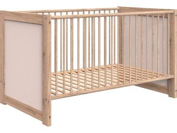 Wimex Babybett Kiruna, mit Schlupfsprossen Rollrost, Liegefläche B/L: 70 cm x 140 cm, kein Härtegrad, ohne Matratze beige Baby Gitterbetten Babybetten Babymöbel
