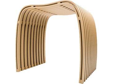 Schulte Duschhocker, belastbar bis 130 kg, aus Bambus Einheitsgröße braun Barrierefreies Bad Badmöbel Duschhocker