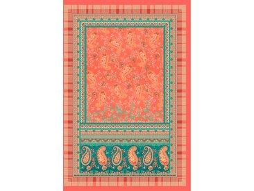 Plaid Anacapri, Bassetti 135x190 cm, Baumwolle rot Baumwolldecken Decken Wohndecken