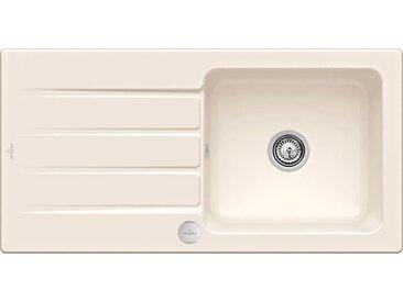 Villeroy & Boch Küchenspüle Architectura 60, inkl. Ablaufgarnitur mit Excenterbetätigung, 1000 x 510 mm Einheitsgröße beige Küchenspülen Küche Ordnung