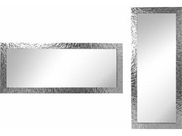 Home affaire Wandspiegel (B/H): 72/172 cm silberfarben Spiegel Wohnaccessoires