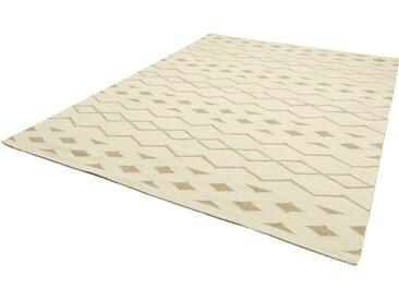 morgenland Wollteppich Kelim Teppich Miami, rechteckig, 7 mm Höhe B/L: 160 cm x 230 cm, 1 St. beige Schurwollteppiche Naturteppiche Teppiche