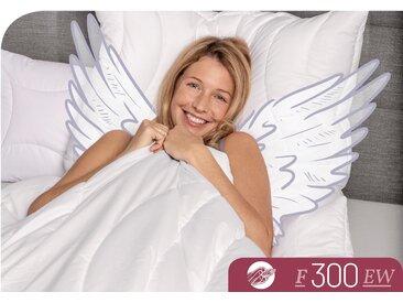 Baumwollbettdecke, F300, Schlafstil weiß, 200x220 cm weiß Naturfaser Bettdecke Bettdecken Bettdecken, Kopfkissen Unterbetten