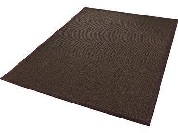 Dekowe Sisalteppich Mara S2 mit Bordüre, rechteckig, 5 mm Höhe, Flachgewebe, Obermaterial: 100% Sisal, Wohnzimmer B/L: 200 cm x 290 cm, 1 St. braun Teppiche