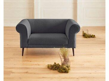 Guido Maria Kretschmer Home&Living 2-Sitzer Teddyka Fellimitat, 150 cm grau Sofas Einzelsofas Couches