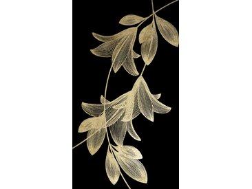 Leonique Acrylglasbild Zweig 100x100 cm, goldfarben Acrylglasbilder Bilder Bilderrahmen Wohnaccessoires