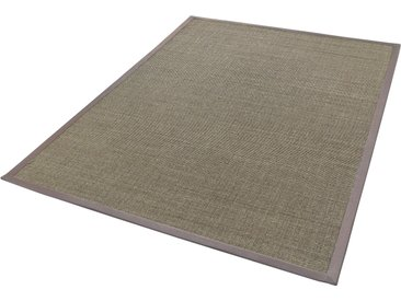 Dekowe Sisalteppich Mara S2, rechteckig, 5 mm Höhe, Flachgewebe, Obermaterial: 100% Sisal, Wohnzimmer 7, 240x340 cm, grau Schlafzimmerteppiche Teppiche nach Räumen