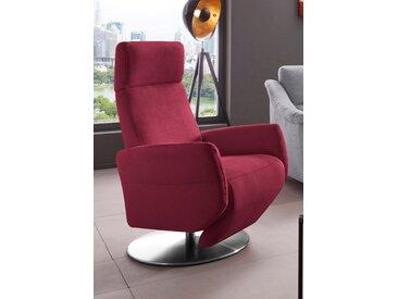Places of Style TV-Sessel Kobra Luxus-Microfaser ALTARA NUBUCK® rot Fernsehsessel und Sessel