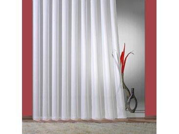 Weckbrodt Gardine Fee, Faltenband 1:3 245 cm, Faltenband, 300 cm weiß Wohnzimmergardinen Gardinen nach Räumen Vorhänge