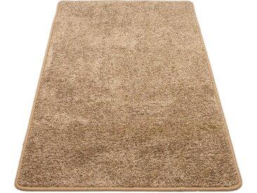 Andiamo Teppich Shaggy uni, rechteckig, 15 mm Höhe, Wohnzimmer B/L: 300 cm x 400 cm, 1 St. grau Esszimmerteppiche Teppiche nach Räumen