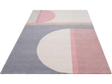 Wollteppich, Divari, andas, rechteckig, Höhe 13 mm, handgetuftet 8, 300x400 cm, mm grau Teppiche Fußmatten Nachhaltige Heimtextilien