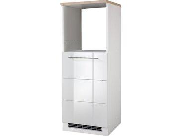 HELD MÖBEL Backofen/Kühlumbauschrank Wien, Höhe 165 cm B/H/T: 60 x cm, 1 weiß Umbauschränke Küchenschränke Küchenmöbel