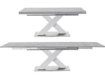 Esstisch Komfort C Einheitsgröße weiß Ausziehbare Esstische Tische Tisch