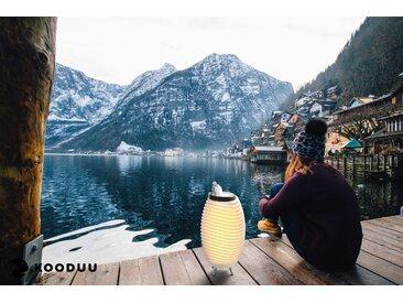 KOODUU,LED Stehlampe Synergy S 1 St., Ø24 cm / H:41,5 weiß Außenstandleuchten Außenleuchten Lampen Leuchten