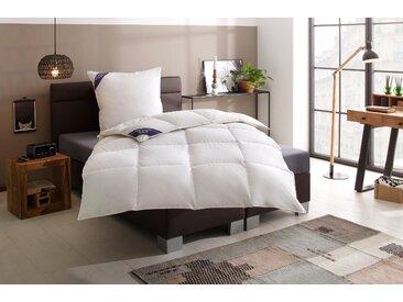 Daunenbettdecke, First Class, Excellent, Füllung: 100% Daunen, Bezug: Baumwolle weiß, 155x220 cm, Premium weiß Daunendecke Bettdecken Bettdecken, Kopfkissen Unterbetten Bettdecke