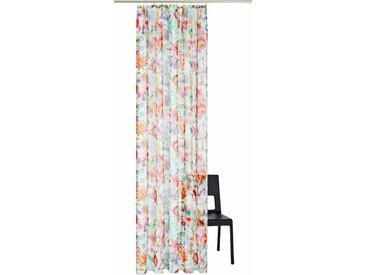 ADO Goldkante Gardine Bird Song 4, H/B: 245/140 cm, halbtransparent, Kräuselband bunt Wohnzimmergardinen Gardinen nach Räumen Vorhänge