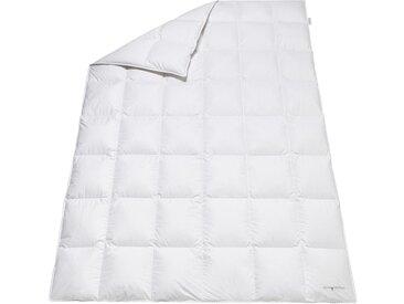 OBB Kassettenbett 1 (135x200 cm 640 g), Medium, 90% Daunen - 10% Federn, mit 1,5 Innensteg weiß Daunendecke Bettdecken Bettdecken, Kopfkissen Unterbetten Decken
