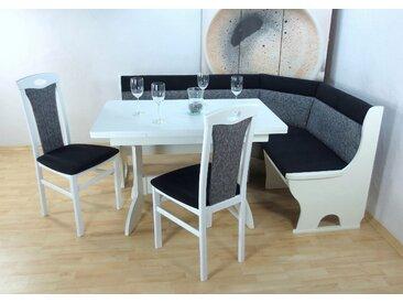 Eckbankgruppe Madrid, (Set, 4 tlg.), Schenkel wechselbar Einheitsgröße grau Sitzbänke Nachhaltige Möbel