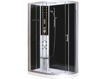 Sanotechnik Komplettdusche Vario, inkl. Kopf-Regenbrause Einheitsgröße silberfarben Duschkabinen Duschen Bad Sanitär