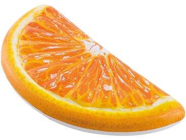 Intex Luftmatratze Orange Slice, 178x85 cm Einheitsgröße bunt Wasserspielzeug Pools Planschbecken Garten Balkon