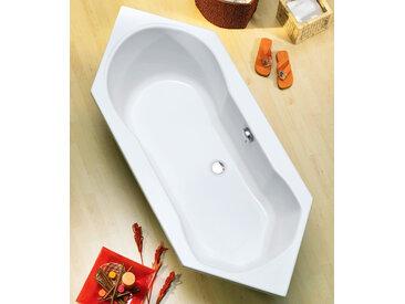 OTTOFOND Eckwanne Ravenna, mit Wannenträger Einheitsgröße weiß Badewannen Whirlpools Bad Sanitär