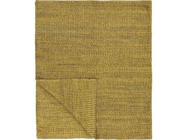 Plaid Kuara, Marc O'Polo Home 130x170 cm, Baumwolle gelb Baumwolldecken Decken Wohndecken