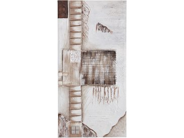 Premium collection by Home affaire Leinwandbild Exceptionally 100x50 cm beige Leinwandbilder Bilder Bilderrahmen Wohnaccessoires