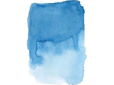 queence Leinwandbild Farbe 80x120 cm blau Leinwandbilder Bilder Bilderrahmen Wohnaccessoires