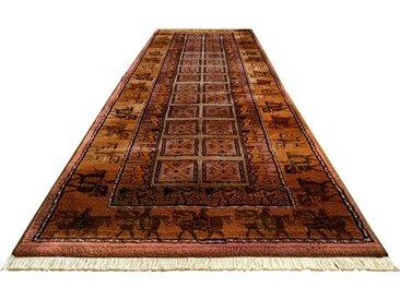 Oriental Weavers Läufer Gabiro Pazyryk, rechteckig, 11 mm Höhe, Teppich-Läufer, gewebt, Orient-Optik, mit Fransen B/L: 80 cm x 292 cm, 1 St. rot Teppichläufer Teppiche und Diele Flur