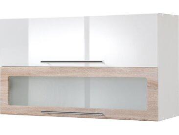 HELD MÖBEL Klapphängeschrank Wien, Breite 100 cm x 57 34 (B H T) weiß Hängeschränke Küchenschränke Küchenmöbel Schränke