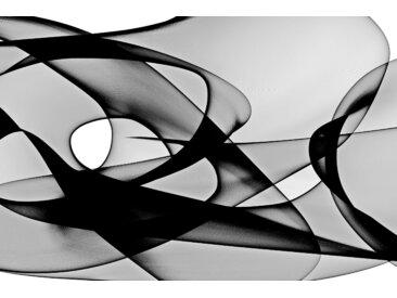 Places of Style Acrylglasbild Abstrakte Kunst 120x80 cm, schwarz Acrylglasbilder Bilder Bilderrahmen Wohnaccessoires