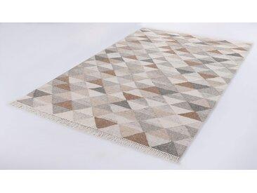 Teppich, Triangle Kelim, TOM TAILOR, rechteckig, Höhe 5 mm, handgewebt