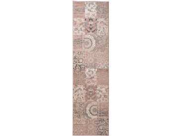 Teppich Patchwork Dessin 5, ca. 190/280 cm rosa Webteppiche Weitere Teppiche