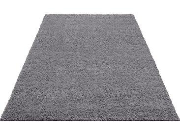 Home affaire Hochflor-Teppich Shaggy 30, rechteckig, 30 mm Höhe, gewebt, Wohnzimmer B/L: 240 cm x 320 cm, 1 St. grau Esszimmerteppiche Teppiche nach Räumen