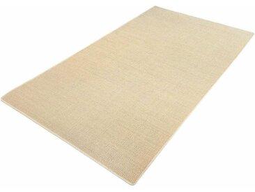 Living Line Sisalteppich Trumpf, rechteckig, 6 mm Höhe, Obermaterial: 100% Sisal, Wohnzimmer B/L: 200 cm x 300 cm, 1 St. beige Esszimmerteppiche Teppiche nach Räumen