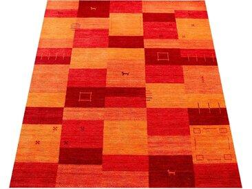 Teppich, Gabbeh 304, Paco Home, rechteckig, Höhe 14 mm, handgewebt